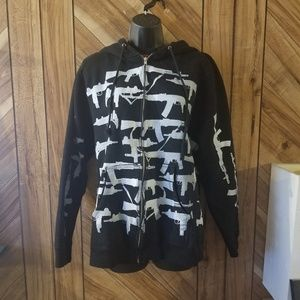 Manik Gun show hoodie jacket M